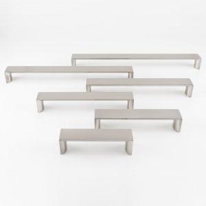 tiradores en aluminio