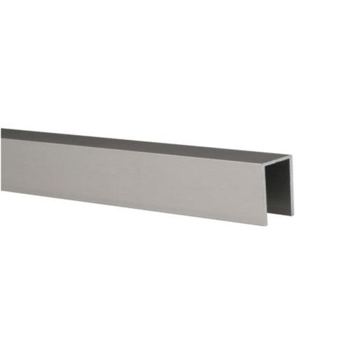 perfil superior de coronación en aluminio