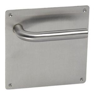 Placa de acero inoxidable para puertas