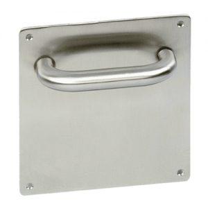 Placas de acero inoxidable para puertas