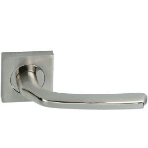 manillas para puertas con roseta cuadrada
